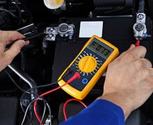 Free Battery and charging system inspection