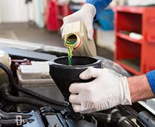 Genuine Toyota Oil & Filter Change Special