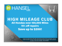 Join the High Mileage Club!