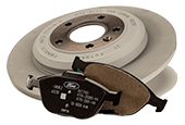 MOTORCRAFT® COMPLETE BRAKE SERVICE, $179.95 OR LESS*