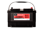 MOTORCRAFT® TESTED TOUGH® MAX BATTERIES STARTING AT $129.95