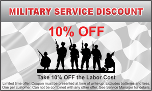 Military Service Discount