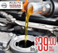 Nissan Oil & Filter Change