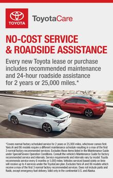 No-Cost Service & Roadside Assistance