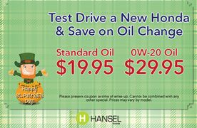 Save on an Oil Change