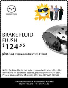 September '20 Brake Fluid Flush