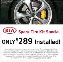 Spare Tire Kit Special