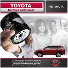 Toyota Synthetic Oil Change