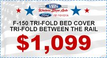 Tri-Fold Bed Cover Special