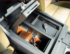 Tundra Center Console Safe Special