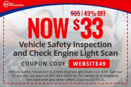 Vehicle Safety Inspection & Check Engine Light Scan