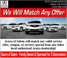 We Will Match Any Service Offer