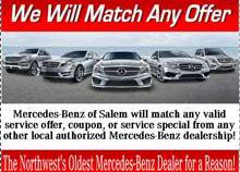 Service specials Salem OR | Mercedes-Benz of Salem