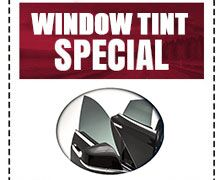 Window Tint Special