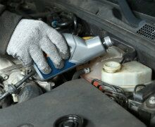 Winter Coolant Service