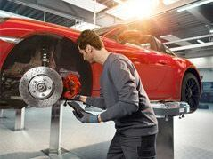 10% off* any factory brake pad/rotor/sensor replacement