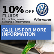 10% Off Fluids - Oil, Coolant, Power Steering & Transmission