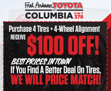 $100 Off Tires