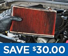 Air and Cabin Filter Special