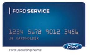 Ford Service Credit Card Rebate