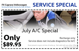 July Service Special