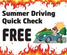 Summer Driving Quick Check