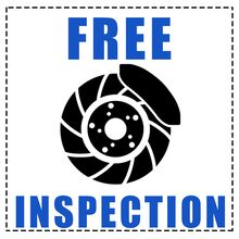 HAVE YOUR BRAKES INSPECTED. FREE.*
