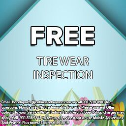 Tire Wear Inspection