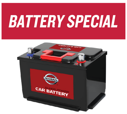 Nissan Battery Special