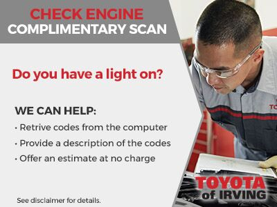 Check Engine Complimentary Scan