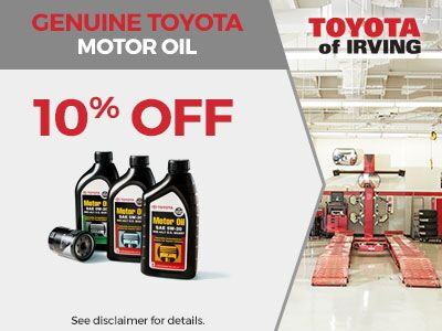 Genuine Toyota Motor Oil