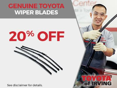 Genuine Toyota Wiper Blades