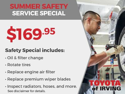 Summer Safety Service Special