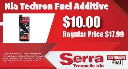 Kia Techron Fuel Additive