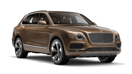 New Bentley Bentayga in San Francisco