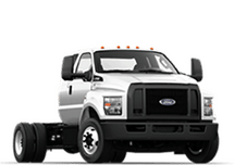 New Ford Super Duty F-650 Straight Frame at Green Bay