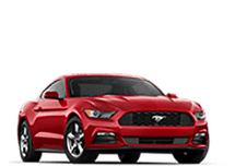 New Ford Mustang at Green Bay