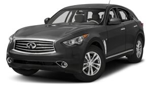 New INFINITI QX70 in