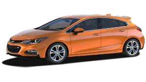 New Chevrolet Cruze Hatchback near Dayton area