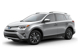 New Toyota RAV4 Hybrid at Birmingham