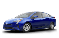 New Toyota Prius at Milwaukee