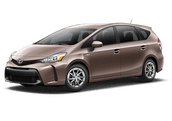 New Toyota Prius v at Hattiesburg