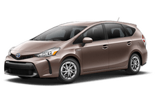 New Toyota Prius v at Milwaukee