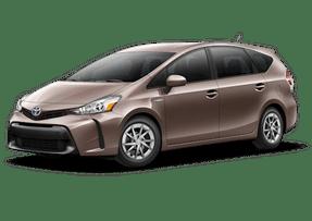 New Toyota Prius v at Petaluma