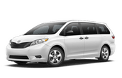 New Toyota Sienna at Hattiesburg