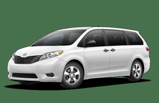 New Toyota Sienna in Napa