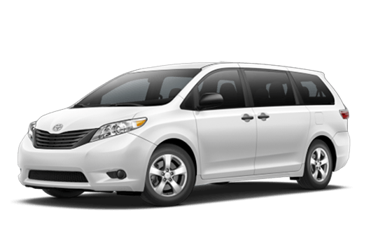 New Toyota Sienna near Salinas