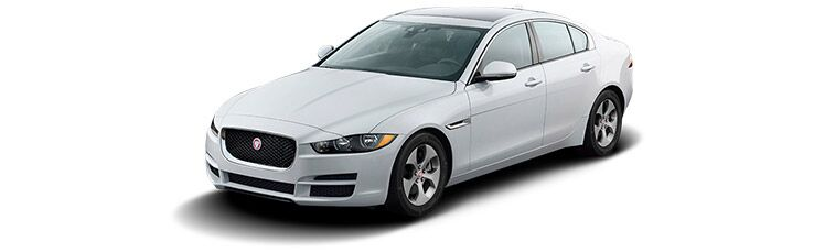 New Jaguar XE near Merritt Island