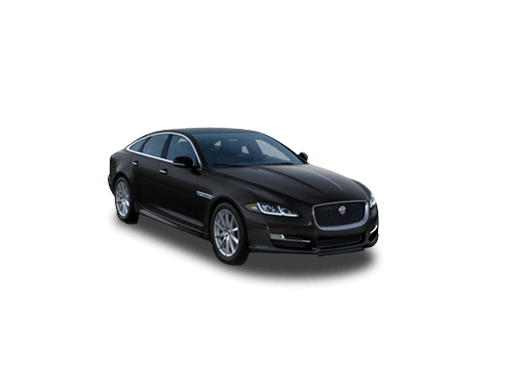 New Jaguar XJ near Merritt Island