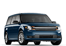 New Ford Flex at Green Bay